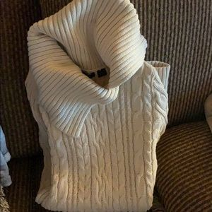 Size s EUC cream cable knit cardigan worn once